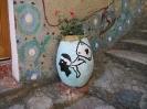 Pot de fleurs à Speluncato